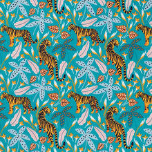Load image into Gallery viewer, The Tiny Garden Tigers Tropical Lush Pastel Classic Bib