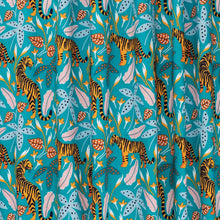 Load image into Gallery viewer, The Tiny Garden Tigers Tropical Lush Pastel Triangle Bib