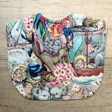 Load image into Gallery viewer, May Gibbs Koala Adventures Pink Classic Bib