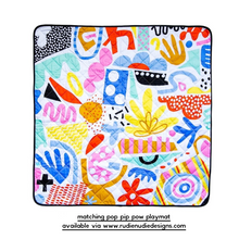 Load image into Gallery viewer, Tilda & Moo X Rudie Nudie Pop Pip Pow Classic Bib