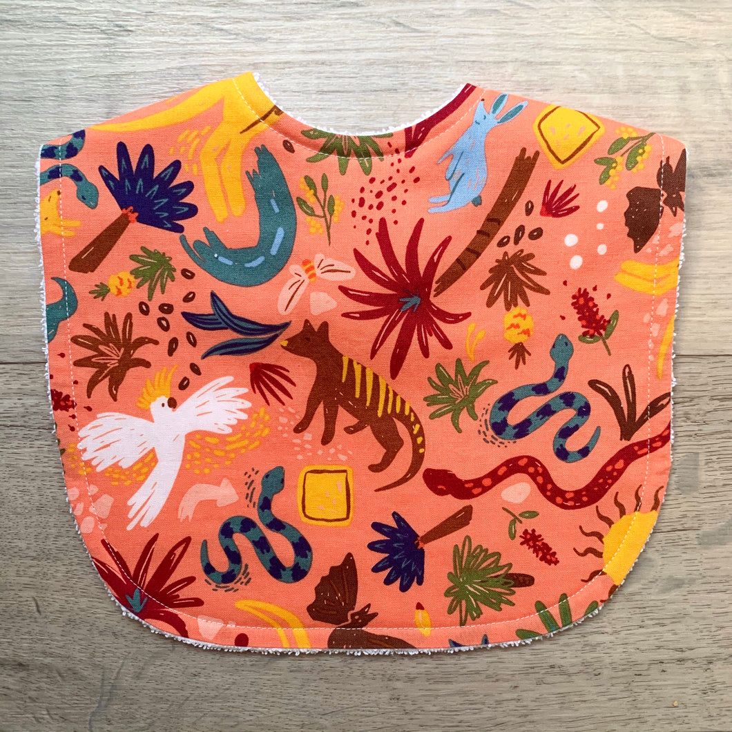 Ellie Whittaker Outback Wild Flame Classic Bib