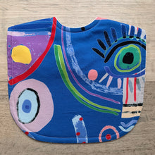 Load image into Gallery viewer, Lillian Farag Boomba Blue Classic Bib