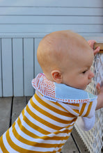 Load image into Gallery viewer, Nerida Hansen Spotted Gingham Classic Bib