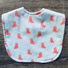 Load image into Gallery viewer, Isa Form Chimpanzee Pink Classic Bib