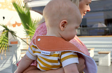 Load image into Gallery viewer, Nerida Hansen Plain Dye Tan Linen Cotton Classic Bib