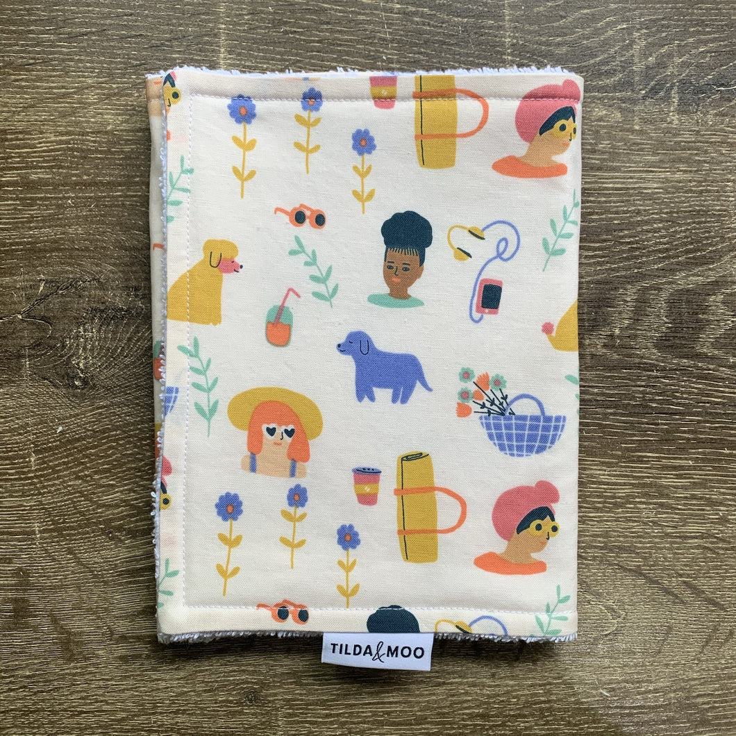 Jennifer Bouron Millennial Things Pale Pink Burp Cloth