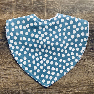 Dot Duck Egg Triangle Bib
