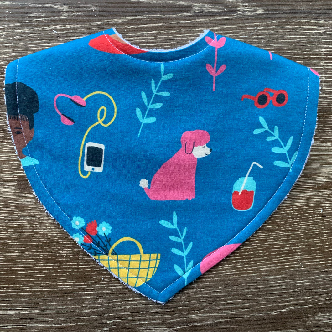 Jennifer Bouron Millennial Things Triangle Bib