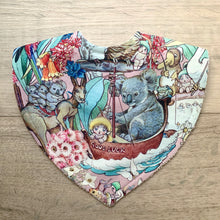 Load image into Gallery viewer, May Gibbs Koala Adventures Pink Triangle Bib