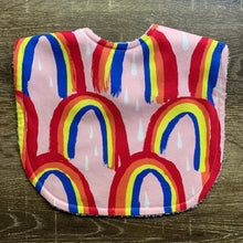 Load image into Gallery viewer, Pattern State Rainbow Bright Classic Bib