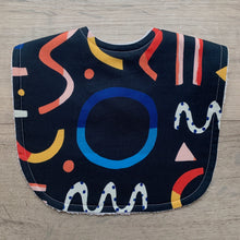Load image into Gallery viewer, Brook Gossen Festive Fun Navy Classic Bib