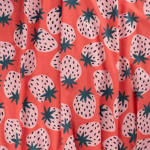 Jennifer Bouron Strawberries Triangle Bib