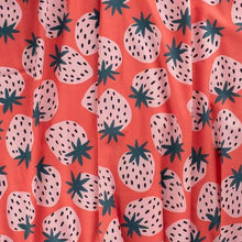 Load image into Gallery viewer, Jennifer Bouron Strawberries Burp Cloth