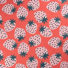 Load image into Gallery viewer, Jennifer Bouron Strawberries Triangle Bib