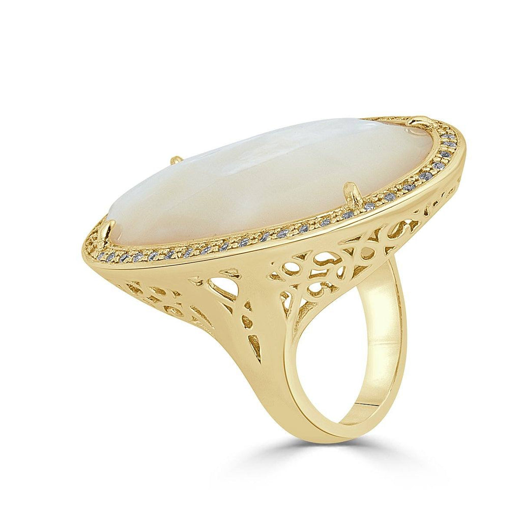 diamond half returns rings akoya shipping free ring eternity pearl white and