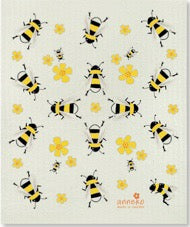 BEES (YELLOW) - SWEDISH DISHCLOTH