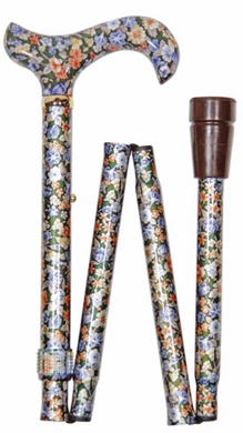 Folding Cane - Autumn Gold - Elite Derby
