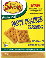 THE ORIGINAL SAVORY PARTY CRACKER SEASONING - 5 FLAVORS