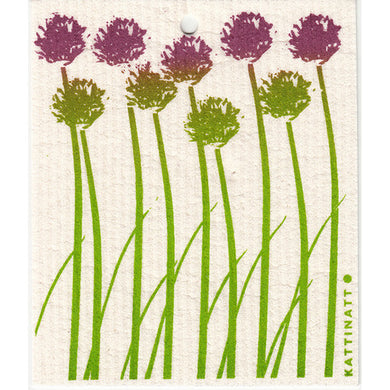 CHIVES SWEDISH DISHCLOTH