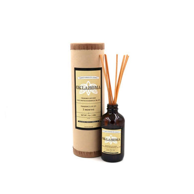 Oklahoma - Sweetgrass and Cedar Reed Diffuser