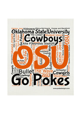 OSU SWEDISH DISHCLOTH