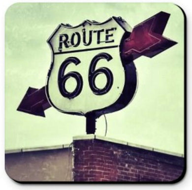 COASTER - ROUTE 66 ARROW SIGN