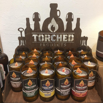 Torched Beer Candles