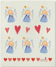 ANGELS & HEARTS - SWEDISH DISHCLOTH