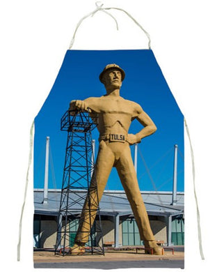 APRON - TULSA'S GOLDEN DRILLER