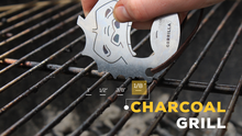 Great for Charcoal Grills