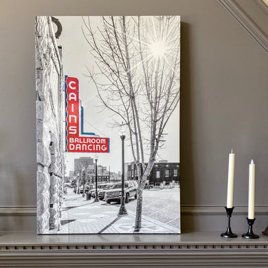 Cains Ballroom 39x26 Canvas Wrap