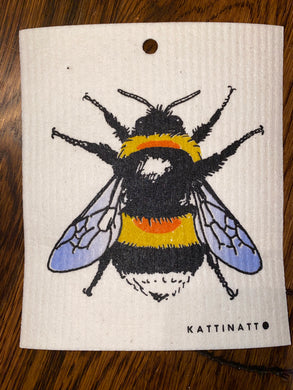 Bee -  Swedish Dishcloth