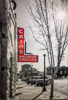 The Cain's Ballroom 24x36 Metal Print