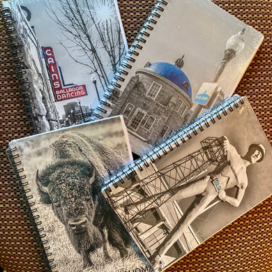 5x8 Notebook - Tulsa & Oklahoma Landmarks on the Cover