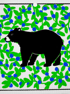 BLACK BEAR - SWEDISH DISHCLOTH