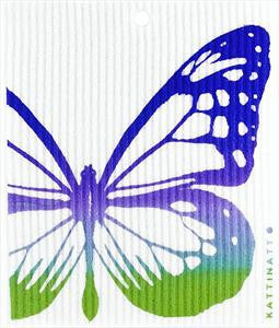 BUTTERFLY, MULTICOLOR - SWEDISH DISHCLOTH