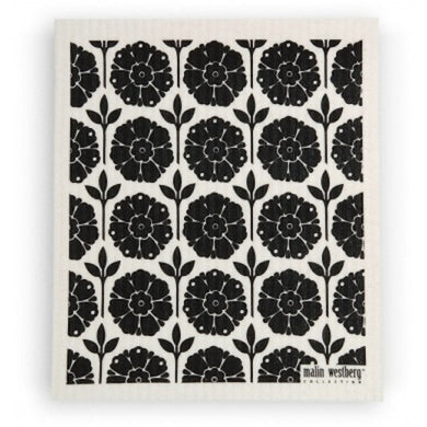 GARDEN BLACK - SWEDISH DISHCLOTH