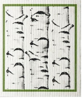 BIRCH TREE - SWEDISH DISHCLOTH