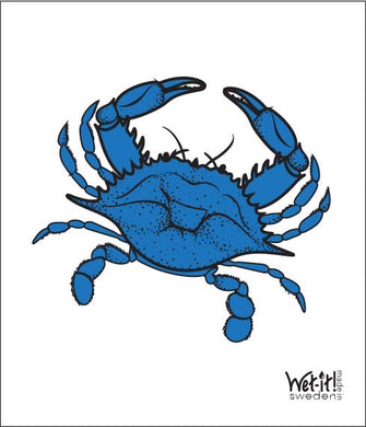 BLUE CRAB - SWEDISH DISHCLOTH