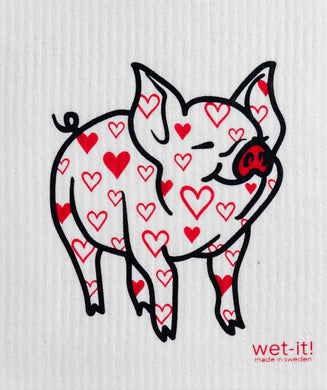 PIG (LOVELY) - SWEDISH DISHCLOTH