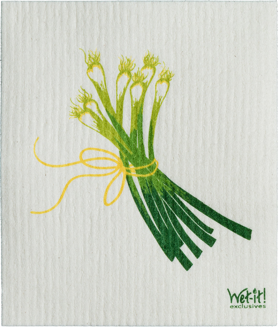 SPRING ONIONS- SWEDISH DISHCLOTH