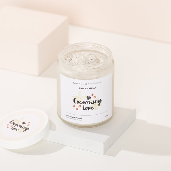 Cocooning Love | Exfoliant fouetté café vanille visage et corps / Whipped coffee vanilla srub face & body
