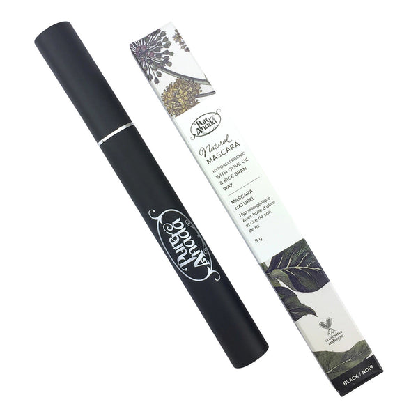Pure Anada | Mascara noir vegan et naturel / Natural black vegan mascara