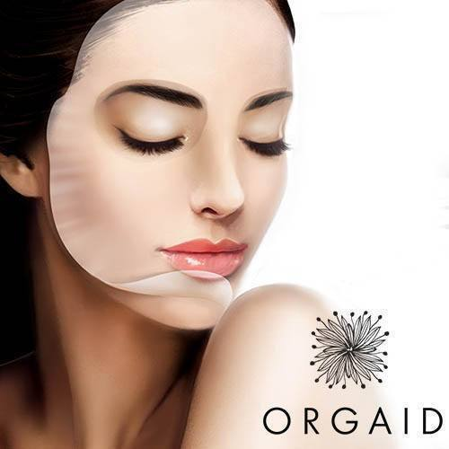ORGAID | 4 Masques en feuille Vitamin C & Revitalizing Organic Sheet Mask Box (4 sheets)