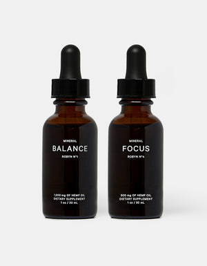 Image of BALANCE and FOCUS products side by side.