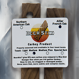 CharStix Bourbon Infused Carboy Sticks