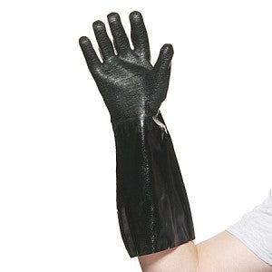 Brewers Gloves - Black Neoprene Chemical Resistant Gloves (One Size)