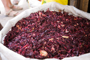 Hibiscus Flowers - Crushed 1 lb