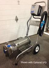 Cart Mounted Centrifugal Pump with 1/2 HP TEFC Motor