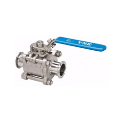 Fittings:  Stainless Steel Sanitary Ball Valve